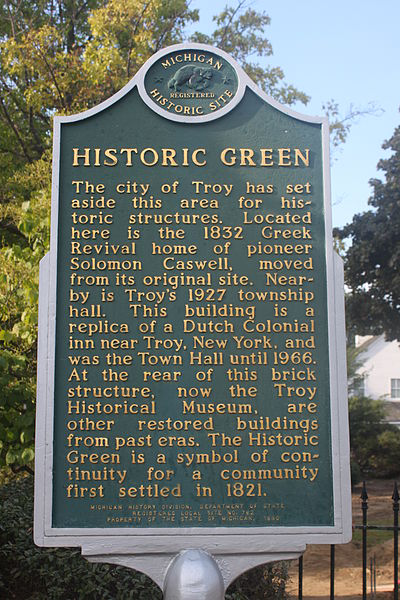 troy historic green